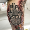 Hand of Hamsa Tattoo