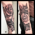 Black and grey Tattoo St Albans