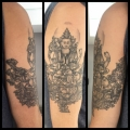 Healed Buddha Tattoo