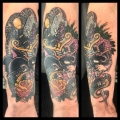 Old School Panther and Snake Cover Up