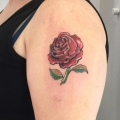English Rose Tattoo Cover Up