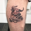 Taurus Tattoo from Customer Flash