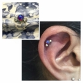 Pinner ear piercing
