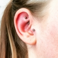 Rook and Tragus Piercing Hertfordshire