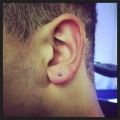 Male Lobe Piercing Hertfordshire