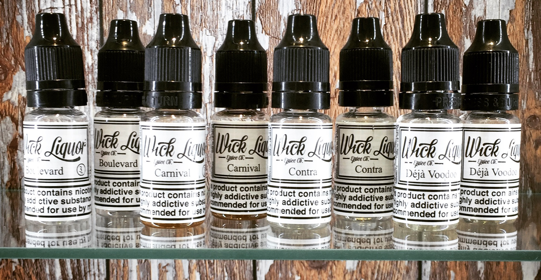 Wick Liquor eJuice now Available