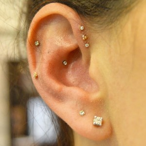 Triple Piercings