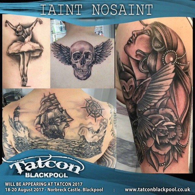 Iaint Nosaint at Tatcon Blackpool Tattoo Convention