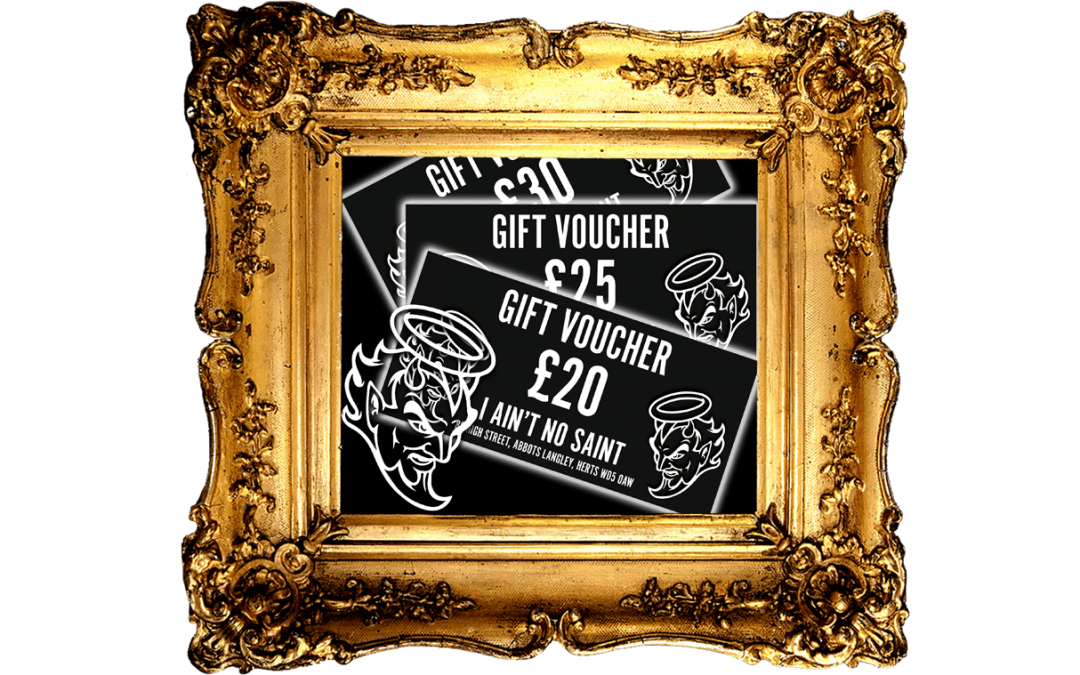15% off Gift Vouchers for Piercing, Jewellery and Vape supplies