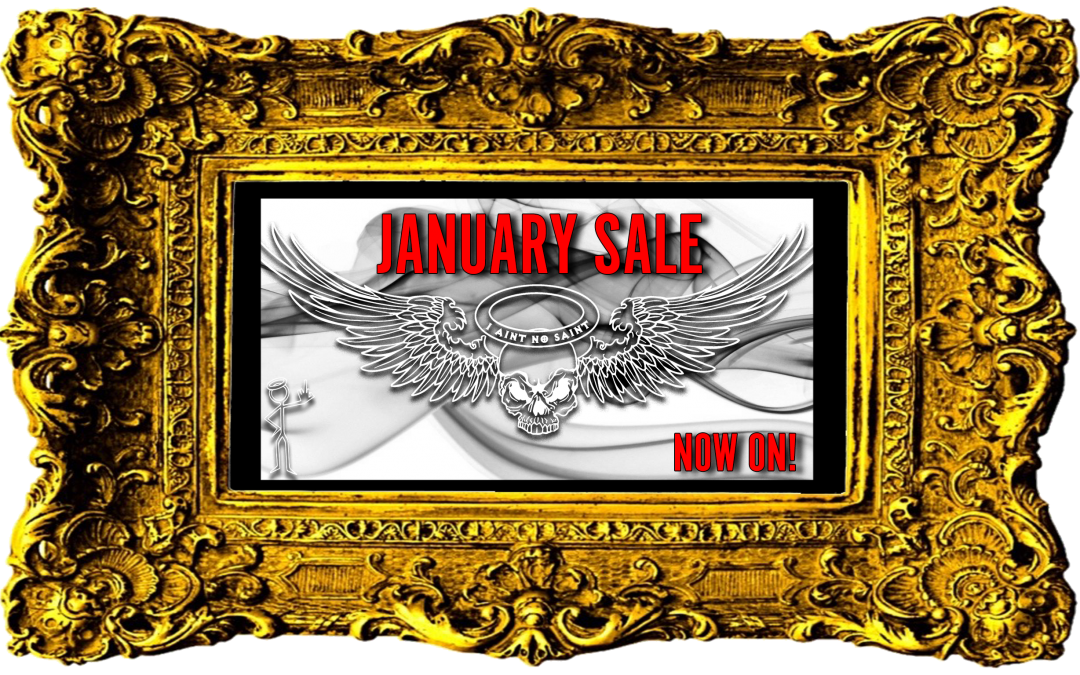 Online January Sale Now On!