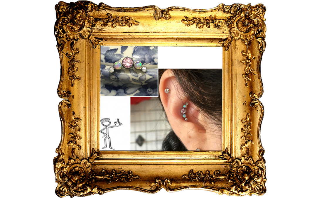 Upgrade your Initial Piercing Jewellery