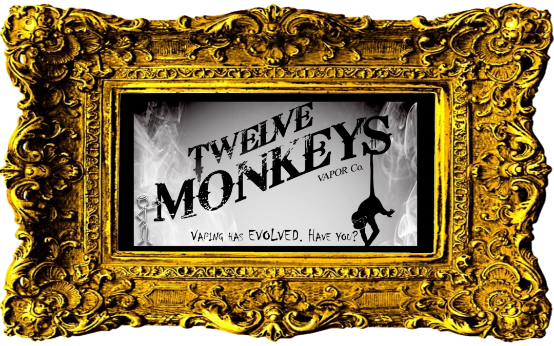 Twelve Monkeys Vapor Co. eJuice now available online!
