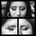 Double eyebrow Piercing