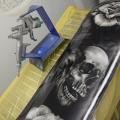 Custom Painted Skate Deck