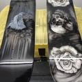 Custom Painted Skateboard Deck