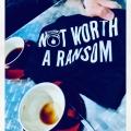 NOT WORTH A RANSOM TShirt I Aint No Saint Streetwear