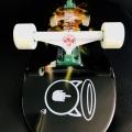 Skateboard Art I Aint NO Saint