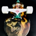 Skateboard Art I Aint No Saint 2