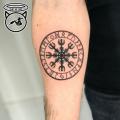 Rune Compass Tattoo