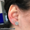 Triangle Lobe Piercing