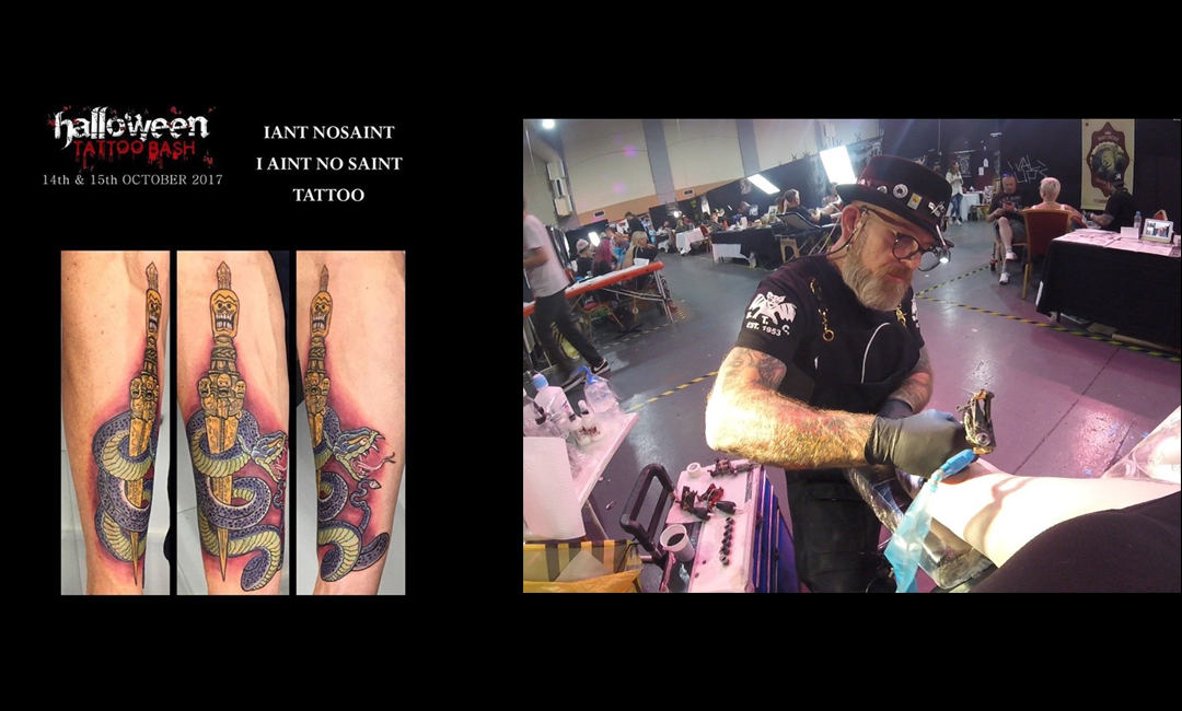 Iaint Nosaint at Halloween Tattoo Bash 2017