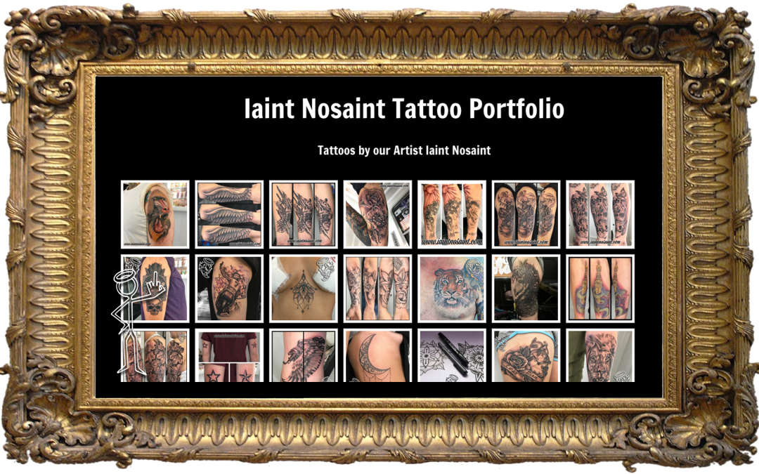 January Slimming Down of Iain's Tattoo Gallery