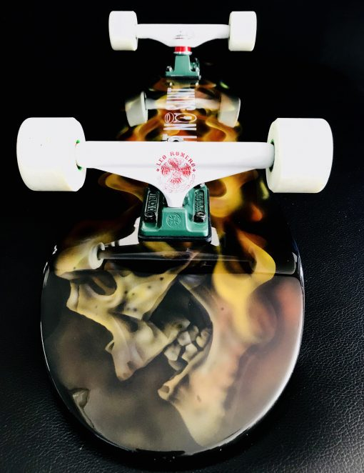 Limited Edition FIRE EXIT Skateboard I Aint No Saint Streetwear