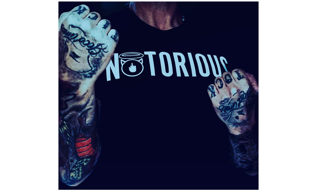 25% discount on our NOTORIOUS TShirt Range